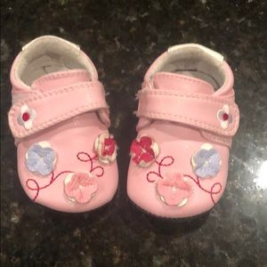 Other - Jack and Lily Baby Girl Bouquet Strap Shoe